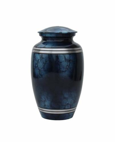 Beautiful High Quality Cloud Aluminum Cremation Urn Funeral Supplies