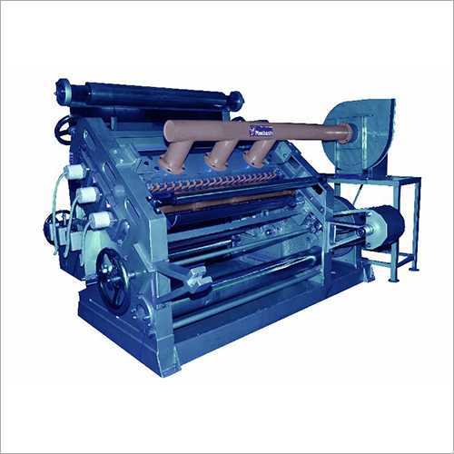 Fingerless Paper Corrugating Machine