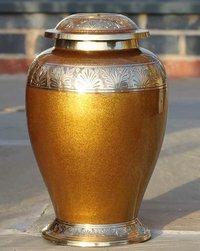 Brass Dove Urn