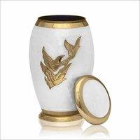 Brass Handcrafted Urn