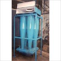 Industrial Powder Coating Booth Industrial Multi Cyclone