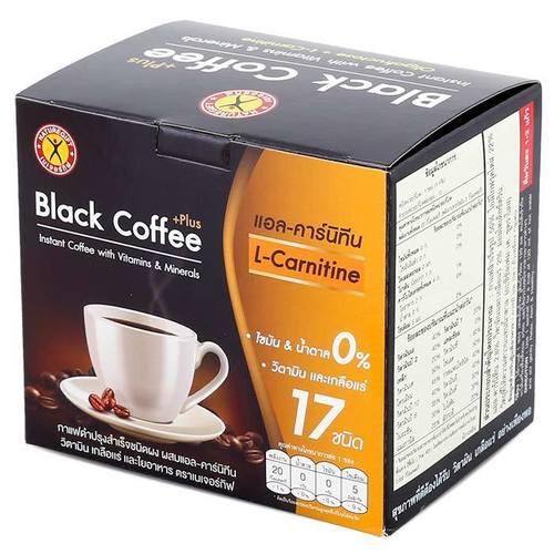 NatureGift Black Coffee Plus Mix L-carnitine 50 g.