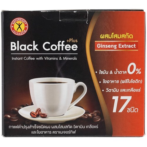 Naturegift Black Coffee Plus with Ginseng Extract 50 g.
