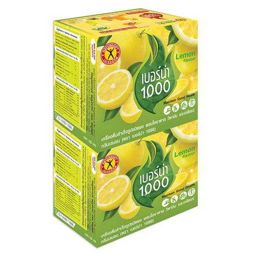 Nature Gift Berna 1000 Lemon Flavor Instant Beverage 100g. Twin pack