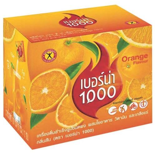 Nature Gift Instant Drink Cold Brew Berna Thousand Orange Flavor 100 g.