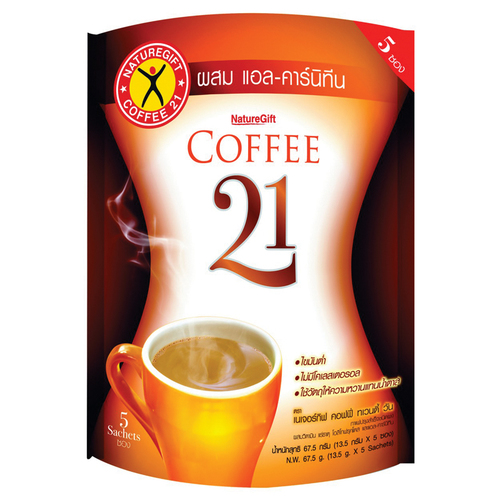 Nature Gift Coffee Twenty One Instant Coffee 67.5g.