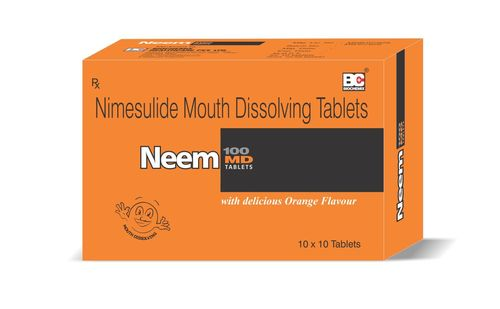 Nimesulide Mouth Disolving Tablets