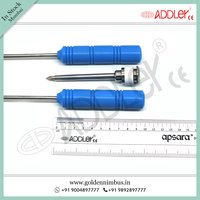 ADDLER Laparoscopic Mochi Needle Left and Right with 5mm Metal Trocar