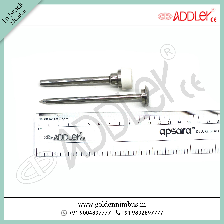 ADDLER Laparoscopic 5mm Metal Trocar