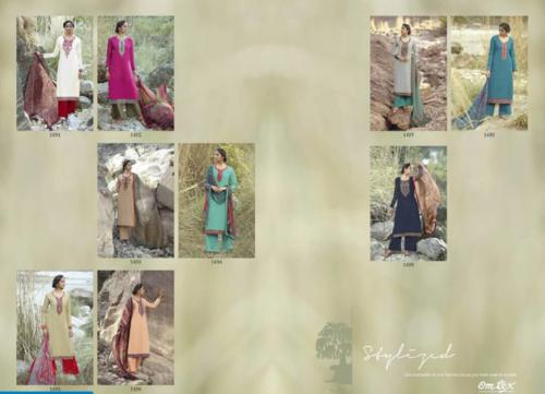 Omtex Moment Suits Designer Lawn Cotton Dress Materials