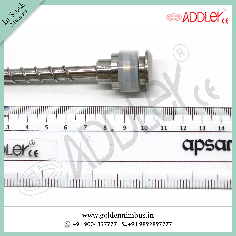 ADDLER Laparoscopic 5mm Spiral Metal Trocar
