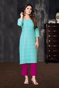 Dhyani Vol 1 Designer Ladies Regular Base Rayon Printed Kurtis