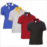 Mens Trendy Collar Cotton T-Shirts