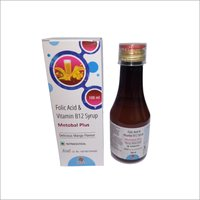 Folic Acid + Vitamin B12 Syrup