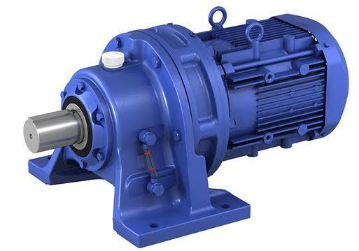 Cycloidal Geared Three Phase Motor