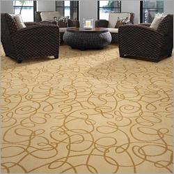 Loop And Cut Pile Carpet Tiles