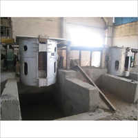 3 Ton Aluminum Shell Induction Melting Furnace