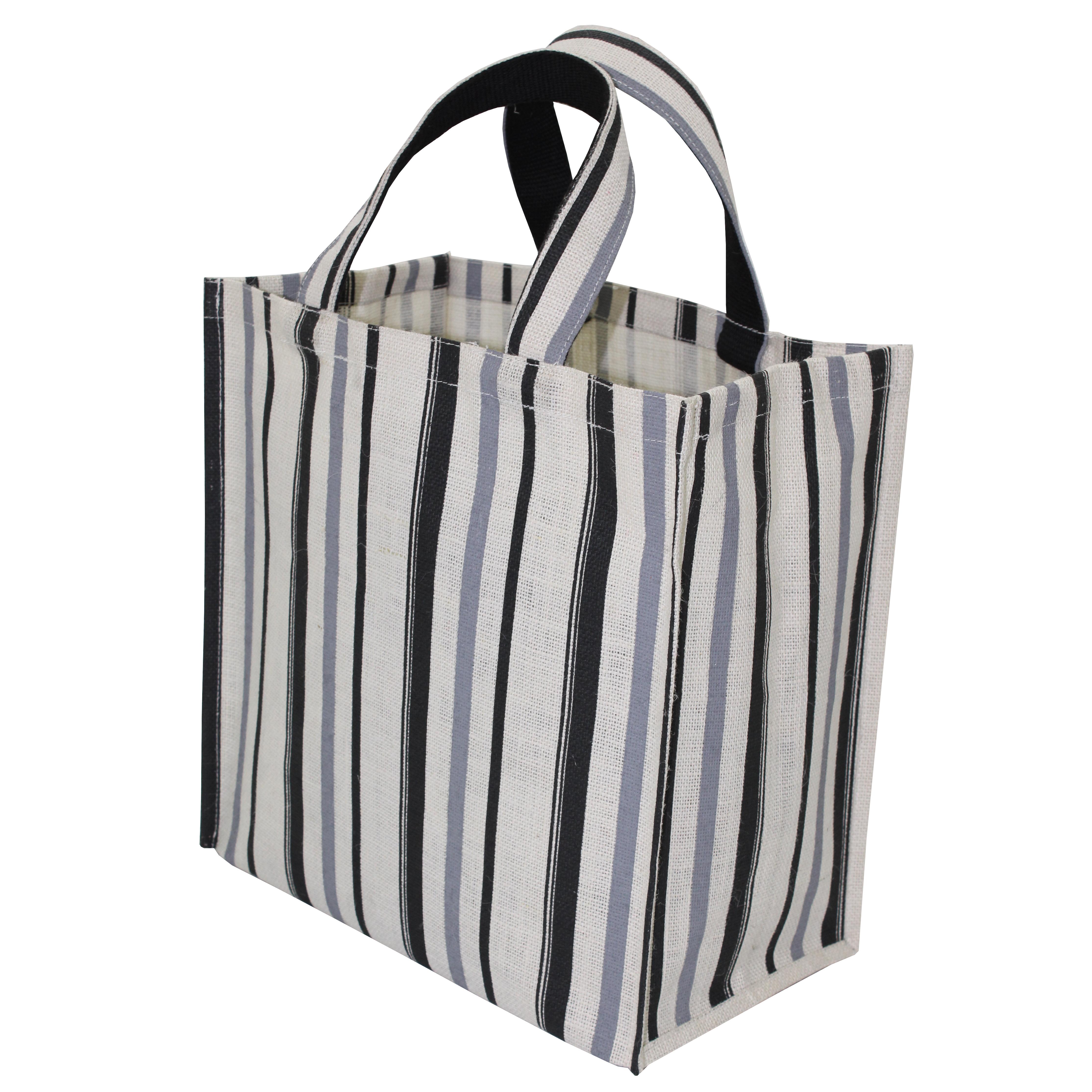 Pp Laminated Jute Tote Bag &  Jute Handle Padded With Webbing