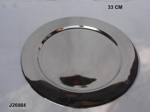 Steel Charger Plate Polished