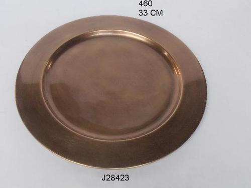 Brass Charger Plate Antique Finish