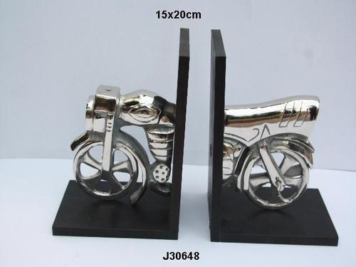 Book End Aluminum Motorcycle
