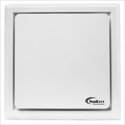Small Ceiling Exhaust Fan White Color With Pipe