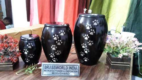 Brass Pet Paws Urn