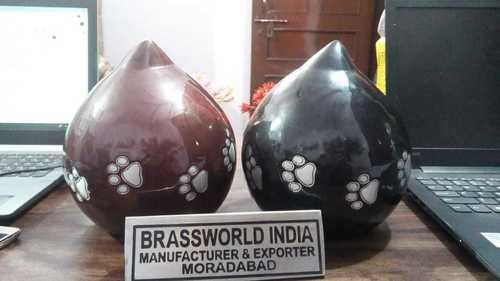 Tear Drop Pet Aluminum Urn