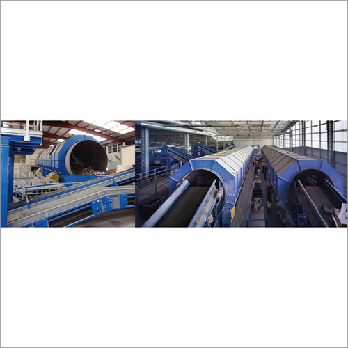 Municipal Waste Handling Conveyor Belt