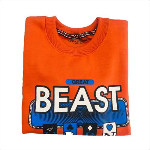 Boys Printed Sweatshirt