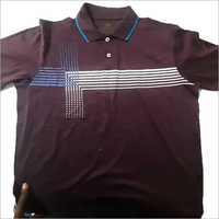 Mens Casual Collared T-Shirt