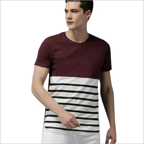 Men Round Neck Fancy T-Shirt