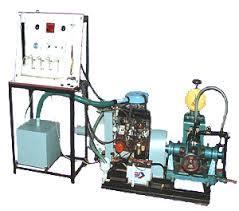 4 Stroke 4 Cylinder Petrol Engine Test Rig