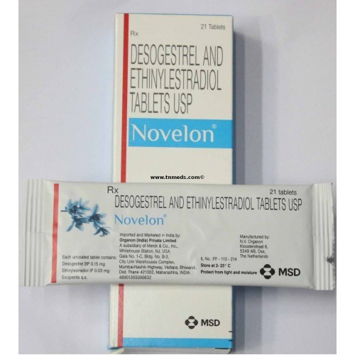 Desogestrel and Ethinylestradiol tablets