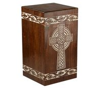 Wood Cremation Urn