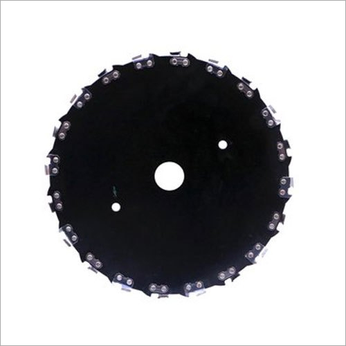 Black Chain Saw Tooth Brush Cutter Blade