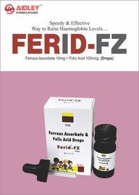 Ferrous Ascorbate 10mg + Folic Acid 100mcg Drops