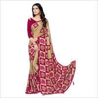 Ladies Party Wear Stone Work Saree