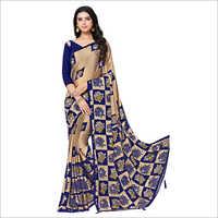 Ladies Trendy Stone Work Saree