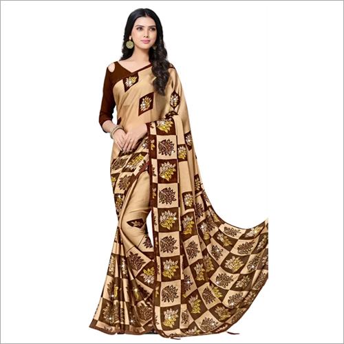 Ladies Stylish Stone Work Saree