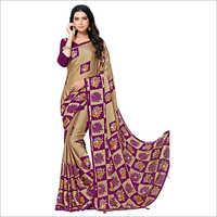 Ladies Fashionable Stone Work Saree