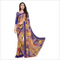Ladies Casual Print Saree