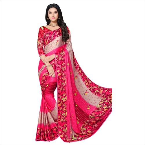 Ladies Fashionable Printed Saree