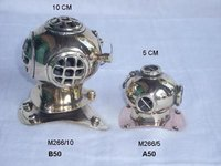 Brass And Copper Diving Helmet