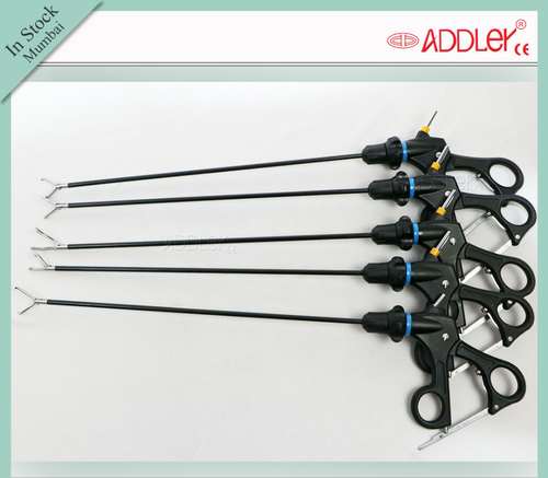 ADDLER Laparoscopic SS 5mm Grasper Set With Accessories