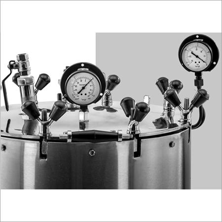 Steri Vertical Semi Automatic Steam Sterliser