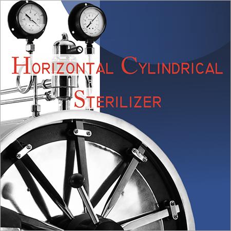 Semi Horizontal  Fully Automatic Steam Sterliser