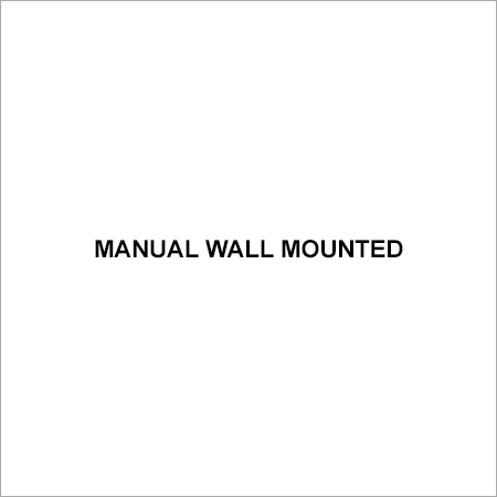 Manual Wall Mounted
