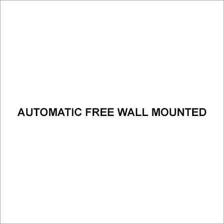 Automatic Free Wall Mounted