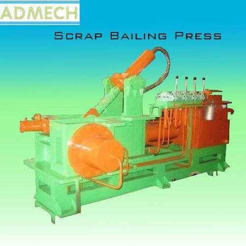 Scrap Bailing Press
